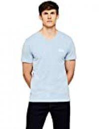 HIKARO Camiseta Logo Hombre, Azul (Light Blue Marl), Medium