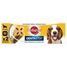 PEDIGREE Pack de 7 Dentastix de Uso Diario para la Limpieza Dental de Perros medianos (Pack de 10)