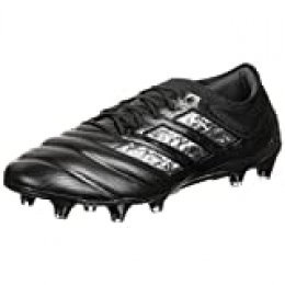 adidas Copa 20.1 FG, Zapatillas de fútbol Unisex Adulto, Core Black/Core Black/Night Met, 36 EU