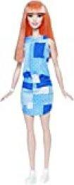 Barbie Fashionista, muñeca Vestido Tejano (Mattel DYY90)