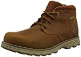 Cat Footwear Elude WP, Botas Chukka para Hombre, Marrón (Leather Brown Chestnut), 40 EU
