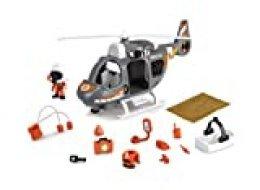 Pinypon Action - Helicóptero de Rescate con 1 Figura con Accesorios, niñas de 4 a 8 años (Famosa 700015350)