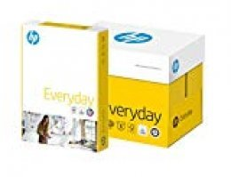 HP Everyday Multifunction - Papel fotográfico (70 g/m², Azul, Amarillo, A4, 210 x 297mm), paquete de 5 piezas