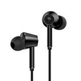 Auriculares Bluetooth 4.1 con Cancelación de Ruido Activo, BlitzWolf aptX HiFi Auriculares Estéreo con Bluetooth Auriculares con Micrófono para Viaje en Avión Trabajo Sueño iPhone Android TV