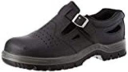 Bata Industrials Safety Shoes Sólido Cuero Genuino Work S1 Oslo Black