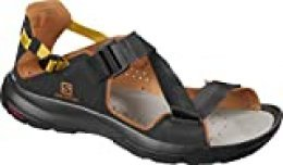 SALOMON Shoes Tech Sandal, Sandalias Unisex Adulto, Marrón (Black/Caramel Cafe/Arrowwood), 40 EU