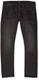 Lee Daren Jeans Vaqueros Straight, Gris (Moto Grey HG), 28W / 32L para Hombre