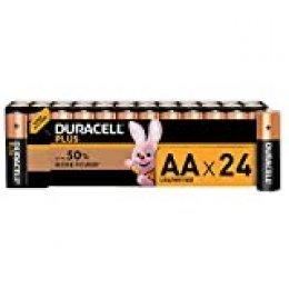 Duracell Plus AA - Pilas Alcalinas paquete de 24, 1.5 Voltios LR06 MX1500