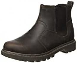Cat Footwear Thornberry, Botas Chelsea para Hombre, Marrón (Mens Brown), 47 EU