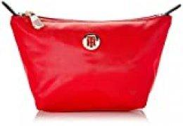Tommy Hilfiger - Poppy Make Up Bag, Organizadores de bolso Mujer, Rojo (Barbados Cherry), 1x1x1 cm (W x H L)