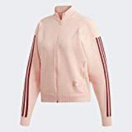 adidas W ID Knit TT Sudadera, Mujer, Glow Pink, L