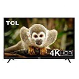 TCL 65DP602, Televisor de 65 pulgadas, Smart TV con UHD 4K, HDR, Dolby Digital Plus, T-Cast y sintonizador Triple, Color Negro[Clase de eficiencia energética A+]