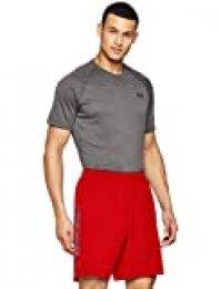 Under Armour Woven Graphic Wordmark Shorts Pantalones de hombre, pantalón corto ultraligero y transpirable, cómodo y ancho pantalón de deporte, Red/Black (600), SM