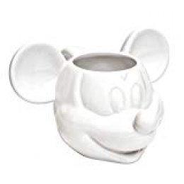 Joy Toy 62124Mickey Mouse 3d taza de cerámica (13,5x 12x 8,5cm), color blanco