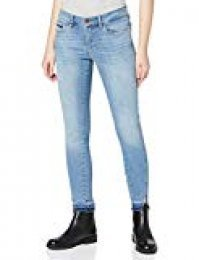 Calvin Klein Jeans Mr Skinny Twisted Ankle-unusual Blue, Mujer