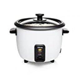 Tristar RK-6117 - Arrocera, Capacidad 0.6 litros, Función para Mantener el Calor, Apagado Automático, incluye Taza Medidora, Espátula y Cuchara, 300 W