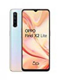 "OPPO Find X2 LITE 5G – Smartphone de 6.4"" AMOLED, 8GB/128GB, Octa-core, cámara trasera  48MP+8MP+2MP+2MP, cámara frontal 32MP, 4.000 mAh, Android 10, color Blanco"