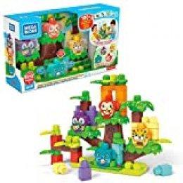 Mega Bloks Casa del árbol bloques de construcción bebé 1 año (Mattel GGG11) , color/modelo surtido