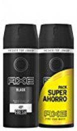 Axe Desodorante Black Pack Duplo Ahorro - 150 ml