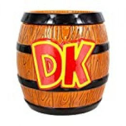 Paladone Products 5055964723941 Tarro de galletas Donkey Kong, Super Mario, Cerámica