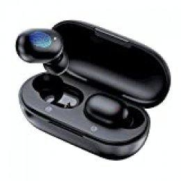 Verdaderos auriculares inalámbricos, Haylou GT1 Bluetooth 5.0 Deportes HD Control táctil estéreo Auriculares con conexión a prueba de agua / rápida IPX5 / Mini estuche (solo 30 g)