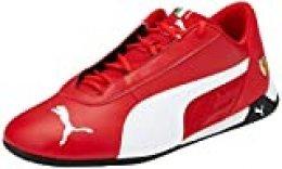 PUMA SF R-Cat, Zapatillas Unisex-Adulto, Rojo (Rosso Corsa White Black), 36 EU