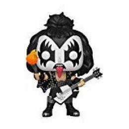 Funko- Pop Vinilo: Kiss: The Demon Figura Coleccionable, Multicolor, Estándar (28505)
