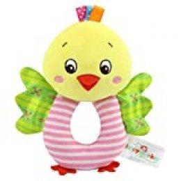 TOYMYTOY Bebé recién nacido suaves rattle Juguetes de traqueteo Juguetes de felpa para niños (Polluelo amarillo)