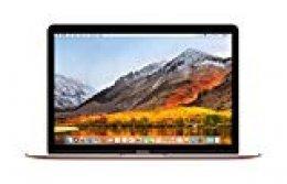 Apple MacBook (de 12 pulgadas: Intel Core m3 de doble núcleo a 1,2 GHz, 256GB) - Oro rosa (Modelo Anterior)
