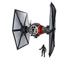 Star Wars- The Black Series Tie Fighter con Piloto, Multicolor (Hasbro Spain B3954eu6)