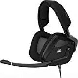 Corsair Void Pro RGB USB, Auriculares Gaming (Pc, USB, Dolby 7.1), Alámbrico, Negro