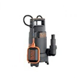 Black+Decker BXUP750PTE Bomba sumergible, 750 W, 230 V, Negro
