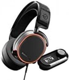 Steelseries Arctis Pro Gamedac - Auriculares De Juego, Sonido De Alta Resolución Certificado, Chip Ess Sabre Dac, Negro