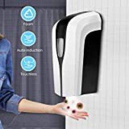 4YANG Dispensador de Spray de Niebla de Alcohol automático 1000ml Desinfectante De Manos De Dispensador Sin Contacto Pulverizador para el hogar, la Oficina, el Hotel, el Hospital.