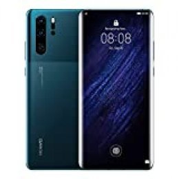 "Huawei P30 Pro - Smartphone de 6.47"" (Kirin 980 Octa-Core de 2.6GHz, RAM de 8 GB, Memoria Interna de 128 GB, cámara de 40 MP, Android) Mystic Blue"