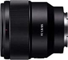 Sony SEL85F18 - Teleobjetivo (teleobjetivo prime de montura E con apertura F1.8 de 9 láminas para un atractivo desenfoque) negro