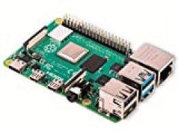 Raspberry Pi 4 Model B 2GB ARM-Cortex-A72 4x 1,50GHz, 2GB RAM, WLAN-ac, Bluetooth 5.0, LAN, 4x USB, 2x Micro-HDMI