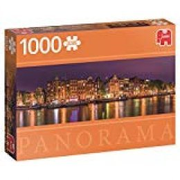 Jumbo pcs Panorama Amsterdam Skyline, Puzzle de 1000 Piezas (618575)