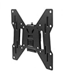 "One For All WM2221, Soporte de pared para TV de 13 a 40"" Inclinable 15° Peso máx. 50kg, Para todo tipo de TVs LED, LCD, Plasma, negro"