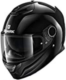 Shark Casco de moto Sparan 1.2 en blanco negro, negro, talla XL