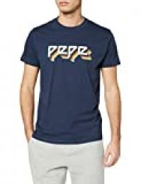 Pepe Jeans Theo Camiseta, Azul (Old Navy 584), X-Small para Hombre
