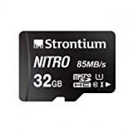 Strontium Technology Nitro - Tarjeta Micro SD (32 GB, 1 Unidad) 85 MB/s U1 Class