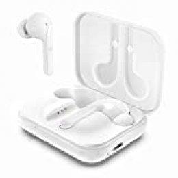 Arbily Auriculares Inalámbricos, Bluetooth 5.0 con Caja de Carga Sonido Estéreo HI-FI Cancelación de Ruido Control Táctil, Soporte Aptx Calidad de Sonido, para Correr Deportivo al Aire Libre