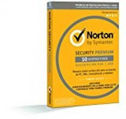 Norton Security Premium 2019 - Antivirus, PC/Mac/iOS/Android, 10 dispositivos, 1 año