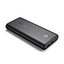 POWERADD EnergyCell Batería Externa Power Bank 20000mAh Cargador Móvil Portátil con 2 Salida USB para iPhone 11, iPad, AirPods, Samsung, Huawei, Xiaomi Redmi Note 7 y más-Negro