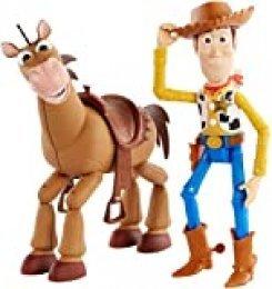 Disney Toy Story 4 Pack de aventuras de Woody y Perdigón, juguetes niños + 3 años (Mattel GDB91)