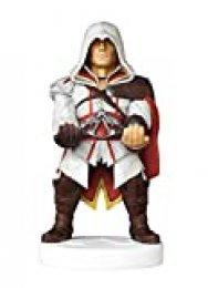 Cable guy Ezio de Assassin's Creed, soporte de sujeción o carga para mando de consola y/o smartphone de tu personaje favorito con licencia de Ubisoft. Producto con licencia oficial. Exquisite Gaming