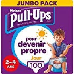 Huggies Pull-Ups Pañales de Aprendizaje , 4 paquetes de 25 Unidades