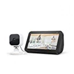 Echo Show 5, Negro + Blink Mini Cámara, compatible con Alexa