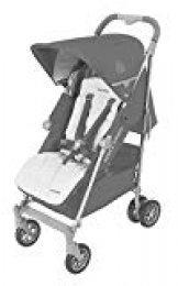 Maclaren Techno XLR Silla de paseo - ligero, manillar unido, para recién nacidos hasta los 25kg, Asiento multiposición, suspensión en las 4 ruedas